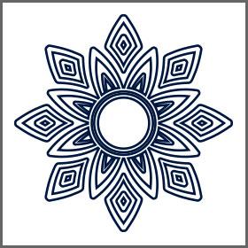Mandala simple